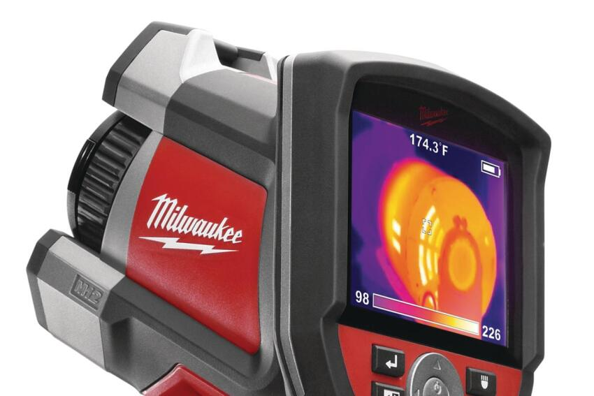 Milwaukee 160x120 Thermal Imager