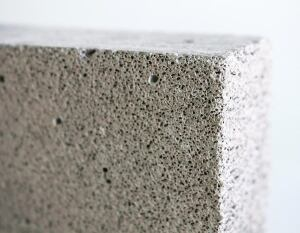 E-CRETE. This company's autoclaved aerated concrete block is a solid, high-performance masonry unit made with a low-energy process that emits no pollutants and creates no by-products or toxic waste products, according to the manufacturer. The finished block is resource-efficient, measuring twice the volume of the raw materials used, and its light weight can help reduce seismic mass and dead load design requirements. AAC block meets ASTM specifications for load-bearing compression, fire resistance, sound transmission, and more, and can contribute to LEED design. 866.508.5803. www.e-crete.com.