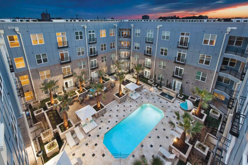 One of the biggest challenges in the Greystar-Riverstone merger will be the integrating Greystar's property management groups, such as the employees at Elan Midtown in Charleston, S.C. (above).