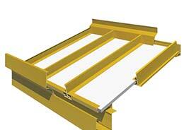 T2000 FIXED SERIES Retractable Roof Skylight