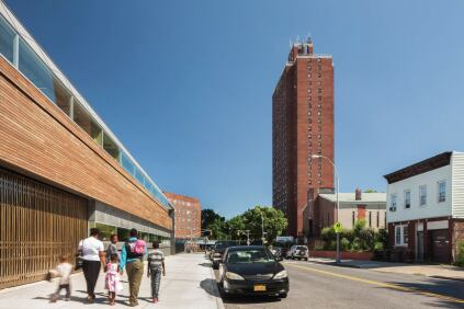The new Weeksville Heritage Center defines the boundaries of this historic heritage site in the middle of Brooklyn.