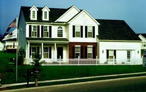 SOLID VALUE: The Truman, shown here, is one of the best-selling plans at Weiss Homes' Lafayette Falls community.