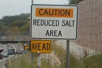 Reducing salt use during winter