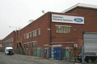 A Ford Stamping Plant in London Transformed into a Neighbordhood