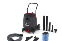 Three Industrial-Grade Ridgid Vacs