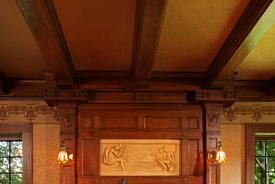 Arts and Crafts Fireplace Restoration