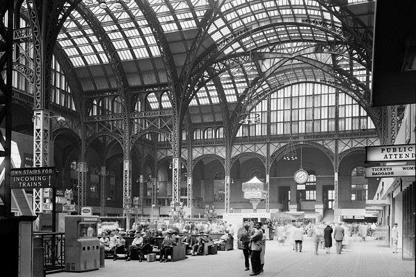 Penn Station, 1962