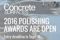 Did You Enter Last Year's Polished Concrete Awards?