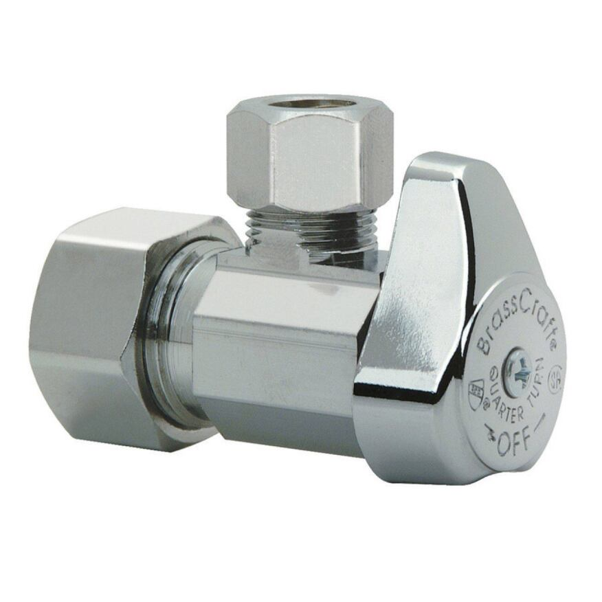1/4 Turn Ball Valve stops for toilets are incrementally more expensive but much better.