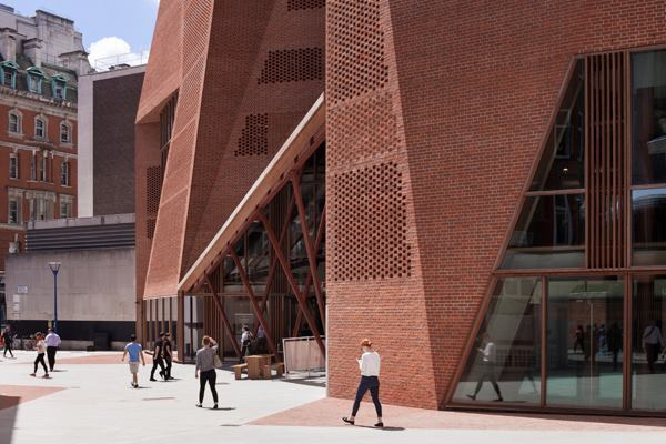 Saw Swee Hock Student Centre for the London School of Economics, London, shortlisted for the RIBA Stirling Prize in 2014.