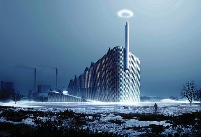 A screenshot from Bjarke Ingels Group's video promoting plans for a novel steam-ring generator.