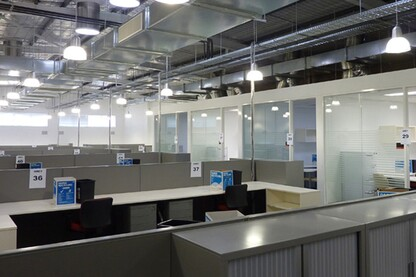 Zircon Interiors - Glass Office Partitions