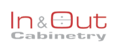 In & Out Cabinetry Logo