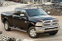 Dual-fuel pickup truck
