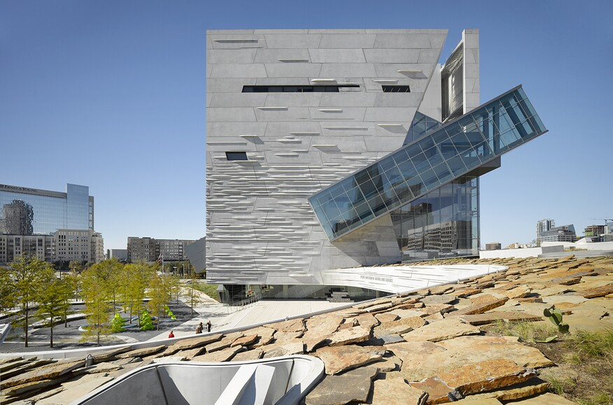 Perot museum of nature science architect magazine for Top dallas architecture firms