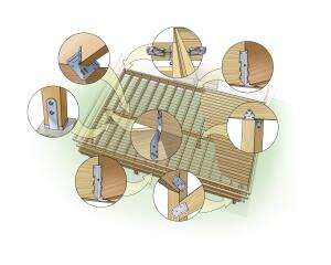 Seaworthy: It takes special materials and techniques to construct decks that will resist conditions along a seashore. Many of these practices also can help toughen decks built inland.