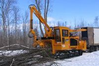 Whole tree chippers can be custom-built