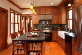Summit Hill Craftsman Kitchen