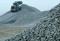 Aggregate supplies are becoming a thorny issue for producers and others in the  construction industry.