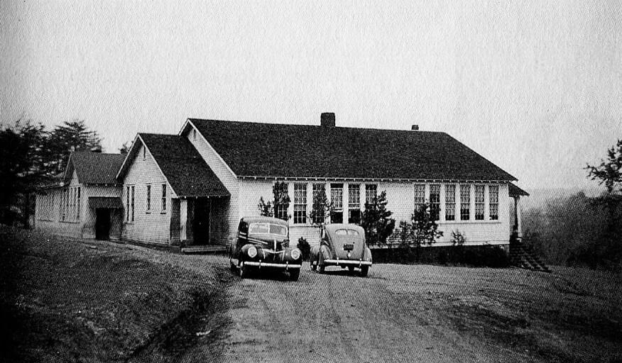 A Rosenwald school in Taylors, S.C., circa 1940
