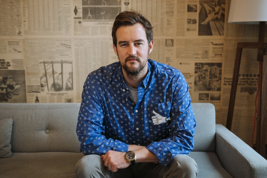 WeWork cofounder and chief creative officer, Miguel McKelvey