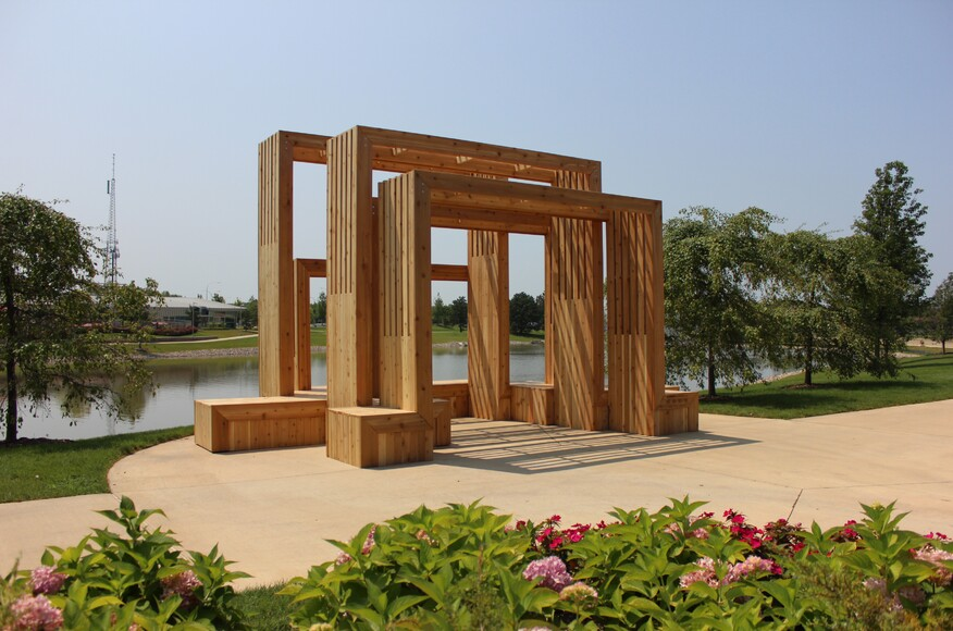 Gathering pavilion architect magazine architecture for Pavilion cost per square foot
