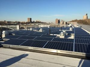 Highbridge Overlook includes the developer's first rooftop solar panel array, which is providing operational cost savings to allow for free high-speed WiFi Internet service for the entire building.
