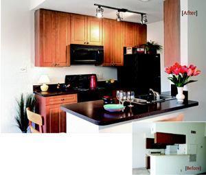 MONEY SAVER: United Dominion Realty Trust is maximizing unit-turn value by upgrading kitchens across its portfolio.