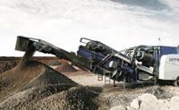 Track-mounted crushers streamline material flow