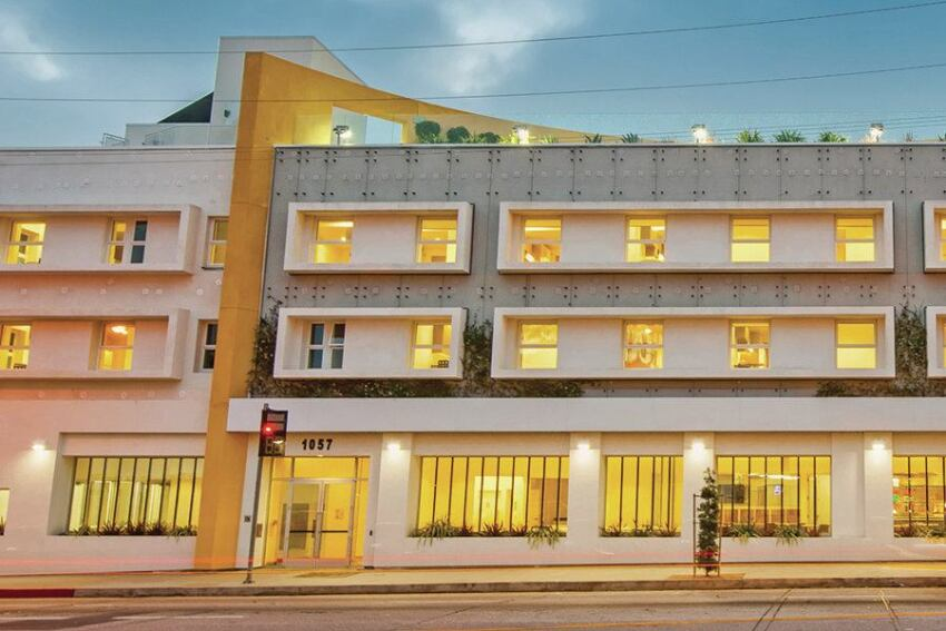 Vacant Hollywood Hotel Transformed into Supportive Housing