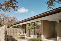 Austin Spec Home is Midcentury Modest