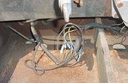 The best way to fight corrosion is to keep road salts away from copper wiring. These wires are not protected.