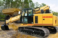 Crawler excavator from Gradall