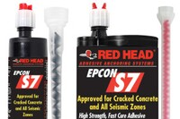 ITW Red Head to demonstrate Epcon S7  Fast Cure Adhesive at World of Concrete