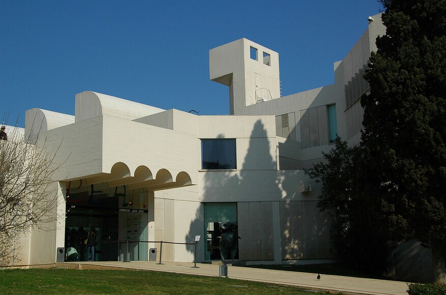 Fundacio Joan Miro  Architect Magazine  Sert, Jackson and Associate, Barcel...