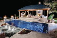Louisana Builder Adds On Pool Features to Give Customer a Whole New Backyard