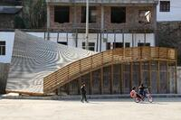 Innovative Detail: The Pinch in Shuanghe Village, Yunnan Province, China