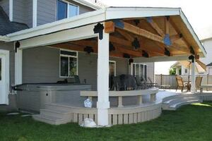 Adding Curb Appeal and Function With a Deck