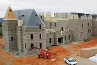 Home Built with ICF-Removable Form Hybrid System