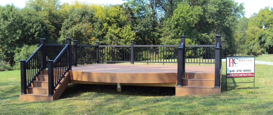 How To Build A Ground Level Wooden Deck
