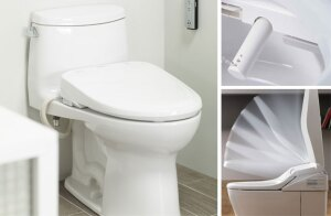 Toto's Washlet is a self-cleaning toilet.