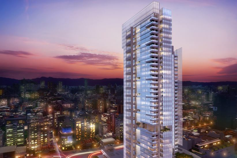 First Look at Richard Meier's Taichung Condominium Tower