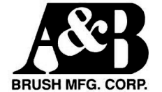 A & B Brush Mfg. Corp. Logo
