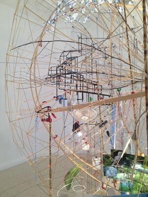 Sarah Sze at the U.S. Pavilion
