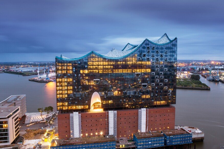 Elbphilharmonie, Hamburg, Germany, by Herzog & de Meuron - July 2015