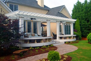 Finishing Decks and Porches With Cellular PVC Trim