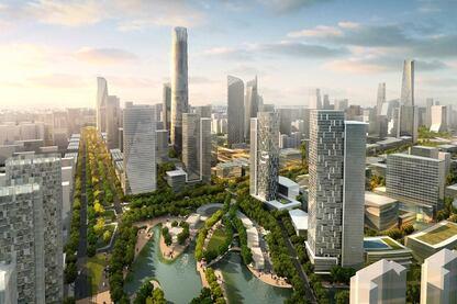 Beijing CBD East Expansion; Beijing, China