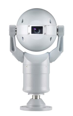 The MIC Series from Bosch Security Systems delivers high-quality surveillance in demanding environments. The MIC400 Underwater (shown) produces distortion-free underwater images, making it ideal for applications such as hydroelectric dams. The sweetly anthropomorphic casing, in aluminum or stainless steel, protects against corrosion, and the pressure-resistant seal allows operation to a depth of 82 feet.  boschsecurity.com