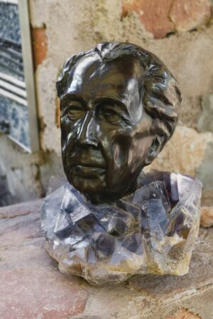 Bust of Frank Lloyd Wright