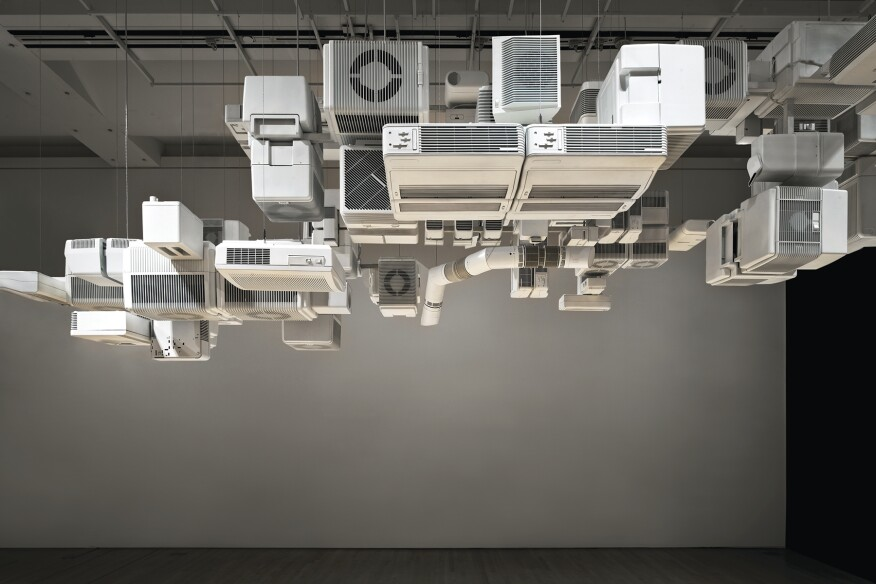 Cloud, 2008, installed at SFMOMA